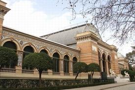 pavimento terrazo museo