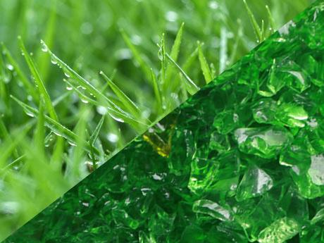 terrazo verde