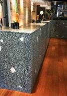 terrazo paneles y marmol
