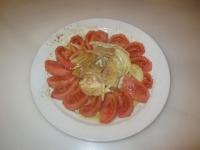 Ensalada de Tomate con atún