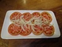 Ensalada de Tomate con cebolla
