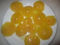 Naranja preparada