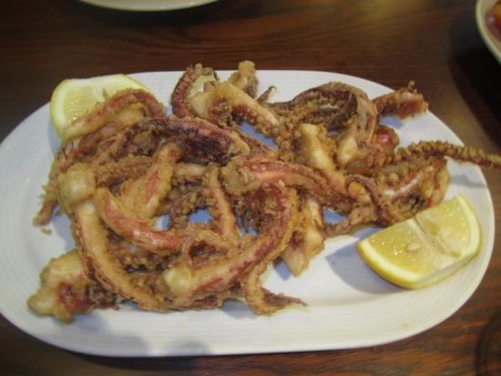 Patas de calamar