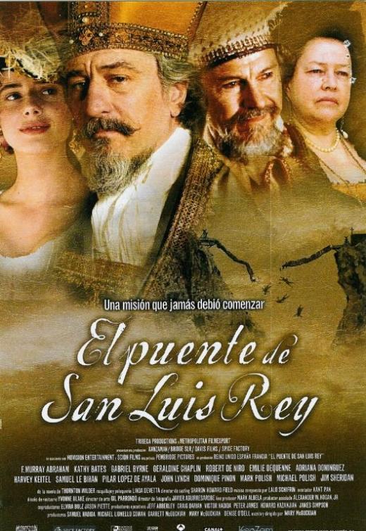Nuestras velas en el cine: El Puente de San Luis Rey