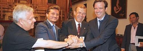 Eduardo Pastor, nuevo presidente de la Agrupación de Cofradías