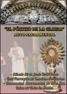 """La Hermandad de la Reina de Todos los Santos estrenó el auto sacramental: """"El pórtico de la Gloria"""""""