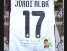 Jordi Alba, un cofrade de convicciones