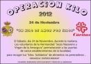 HERENCIA: la Hermandad de Jesús Nazareno y Nuestra Señora de la Amargura ponen en marcha la Operación Kilo 2012