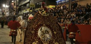 LORCA: solo los bordados de Semana Santa optan a Patrimonio de la Humanidad