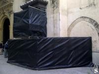 SEVILLA: comienza la restauración del retablo del Calvario