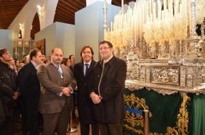 Abierta en el Ciecema de Almonte la exposición 'La advocación del Rocío en la Semana Santa de Andalucía'