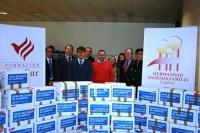 CÓRDOBA: CajaSur y la Hermandad recogen más de 3.200 Kilos para el Banco de Alimentos