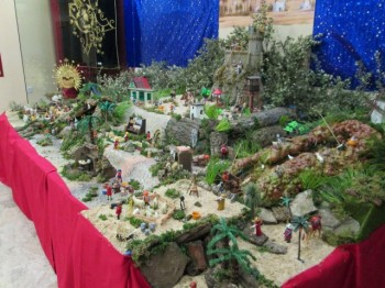 DAIMIEL: Los Playmobil se caracterizan de Belén de Navidad