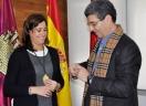 CIUDAD REAL: La Alcaldesa recibe a la Hermandad de la Santa Cena para conocer los actos organizados con motivo del 50 Aniversario