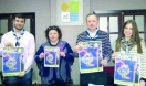 VALDIVIA recibe la 'Luz de Belén' para repartirla por toda Extremadura