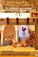 SEVILLA: Navidad en la Hermandad del Cristo de Burgos
