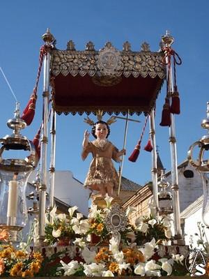 CARMONA: procesión del Niño Jesús