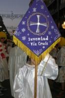 GRANADA: El Grupo Joven de la Hermandad de El Vía Crucis participó en la Cabalgata de Reyes
