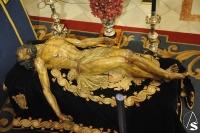 SEVILLA:  Baratillo. Charla sobre el proceso de restauración del Stmo. Cristo de la Misericordia