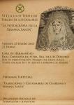 GRANADA: La fotografía cofrade, a debate en las tertulias de la hermandad de Los Dolores