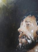 SEVILLA: Díaz Arnido pinta la portada del Boletín de Cuaresma de Monte-Sión