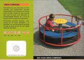 Juego infantil Mesa Carrusel