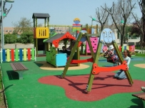 Columpios parques infantiles exterior