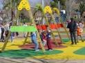 Columpios dos asientos para parques infantiles