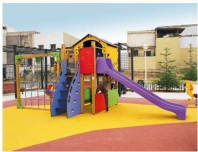Juegos infantiles para parques de exterior