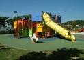 El castillo para parques infantiles