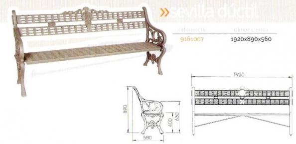 Banco Sevilla ductil
