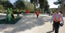 El Taibilla permite acceder a su parque infantil con columpios sin hacerse socio pagando una entrada