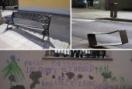 Los daños por vandalismo suponen más de 300.000 euros al año al Ayuntamiento de Salamanca