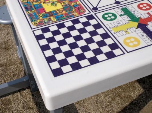 mesa multijuegos antivandalica de exterior
