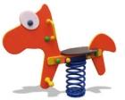 Balancin de muelles el caballo