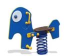 Balancin de muelles el elefante
