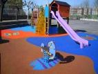 Suelo de seguridad para parques infantiles