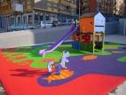 Pavimento para parques infantiles