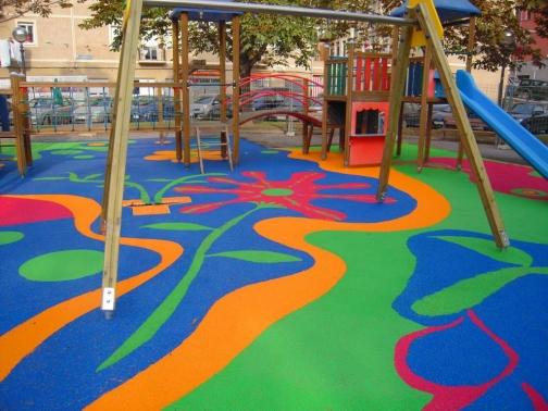 pavimento para parques