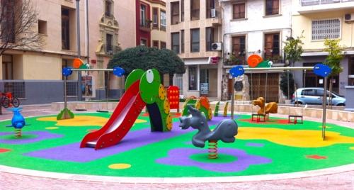 AUNOR: mobiliario urbano y parques infantiles