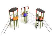 Complejo trepas de 3 torres