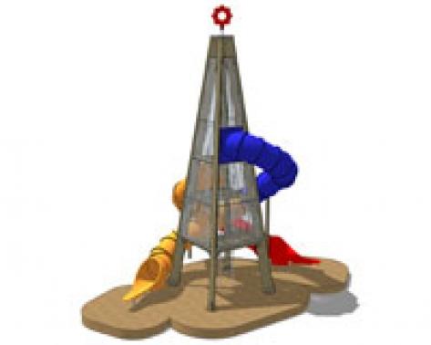 torre piramidal