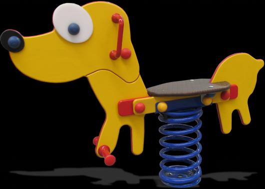Balancin de muelles el perro