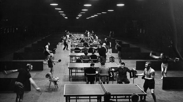 Mesas de ping pong antivandalicas de exterior.