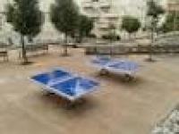 El ayuntamiento de Pontevedra coloca nuevas mesas de ping pong antivandalicas de exterior