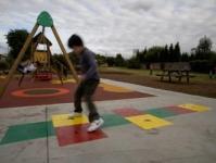 NUEVO PARQUE INFANTIL PARA NIÑOS EN CUETO