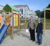 Parques infantiles en Galicia.