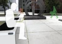 Mobiliario urbano reciclado y productor de energía