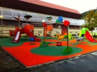 Parques infantiles de acero inoxidable