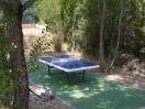 Mesas de ping pong.